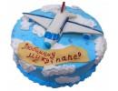 Торт «Самолет в облаках»