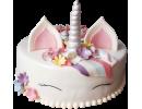 Торт в виде единорога