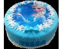 Торт с принцессой из «Холодного сердца»