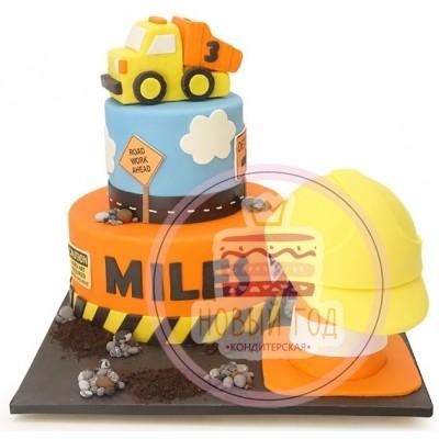 Торт грузовиком