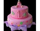 Торт с малышкой на годик