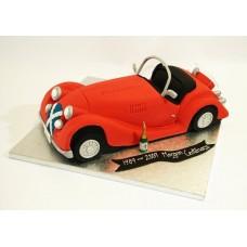 Торт «Красный кабриолет»