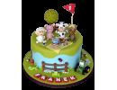 Торт «Веселая ферма»