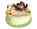 Торт «Ну погоди! в деревне»