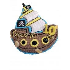 Торт «Корабль Черной бороды»