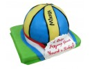 Торт «Mikasa» для волейболиста