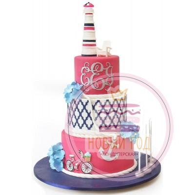 Торт с маяком