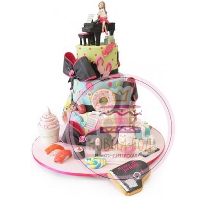 Торт «Девичьи радости»