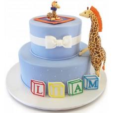 Торт с жирафами