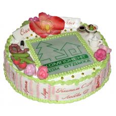 Торт корпоративный «Праздник»