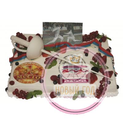 Торт для Федерации фехтования