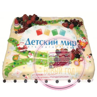 Торт «Детский мир»