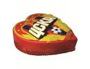 Торт в виде сердца с логотипом «ЦСКА»