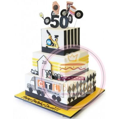 Торт на юбилей компании «CTL»