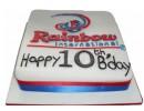 Торт на 10-летие компании