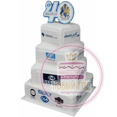 Торт на юбилей группы компаний