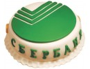 Торт на корпоратив «Сбербанка»