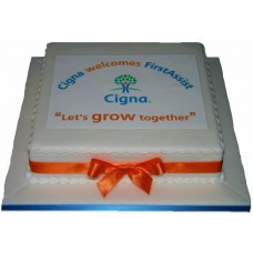 Торт на корпоратив компании «Cigna»