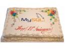Торт на юбилей «MySQL»