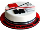 Торт с фирменным логотипом
