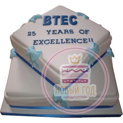 Торт на юбилей компании «ВТЕС»