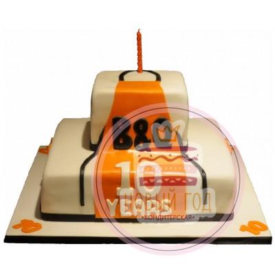 Торт на 10 лет компании «B&Q»