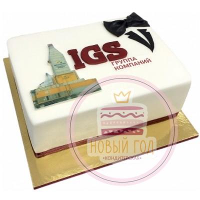 Торт для группы компаний «IGS»