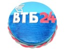 Торт с логотипом «ВТБ 24»