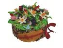 Торт «Букет цветов»