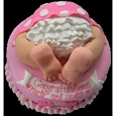 Торт с юбочкой