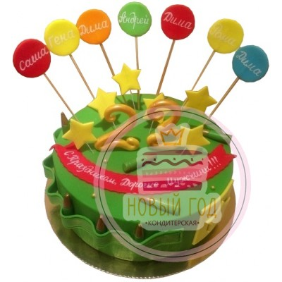 Торт с патронами