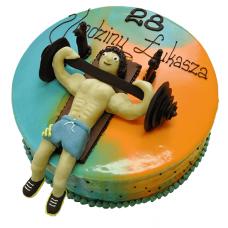 Торт для любителя спорта