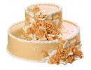Кремовый торт в виде шляпы
