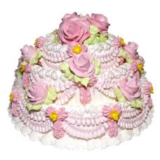"""Кремовый торт """"Бал"""""""