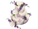 Торт «Лавандовая история»