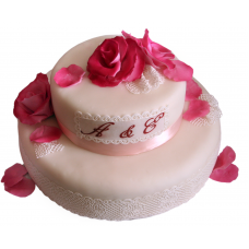 Торт «Лепестки роз»