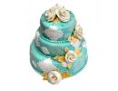 Торт «Мятная свадьба»