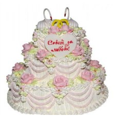 Торт «Совет да любовь»