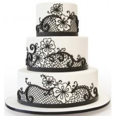 Торт «Черное кружево»