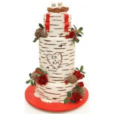 Свадебный торт «Береза»
