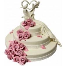 Торт «Свадебный пьедестал»