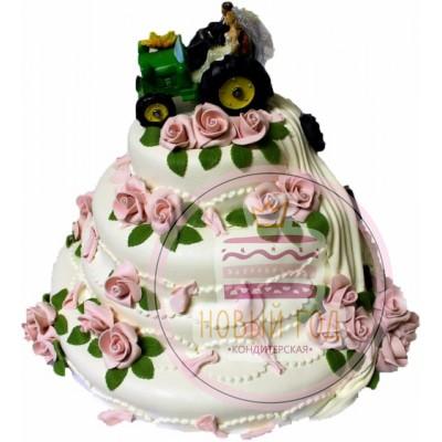 Торт «Сельская свадьба»