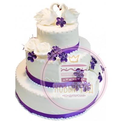 Торт «Изысканная свадьба»