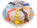 Торт с галстуками на 30-летие