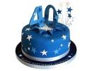 Торт на 40-летие со звездами