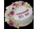 Торт маме на 50-летний юбилей